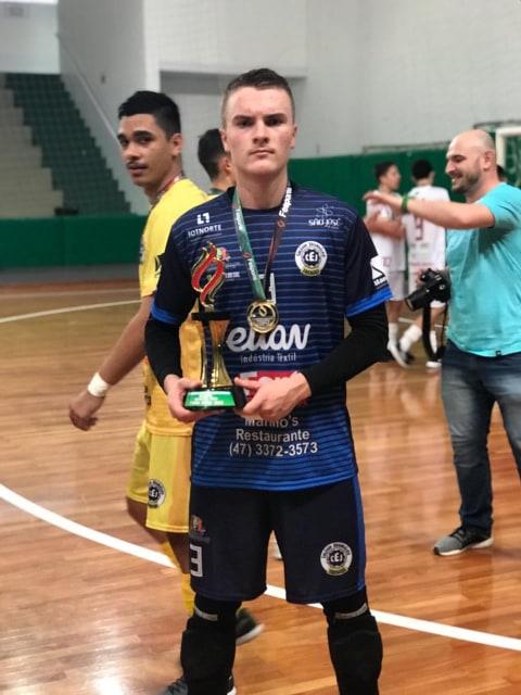 Bruno foi campeão estadual do Joguinhos Abertos no ano passado.